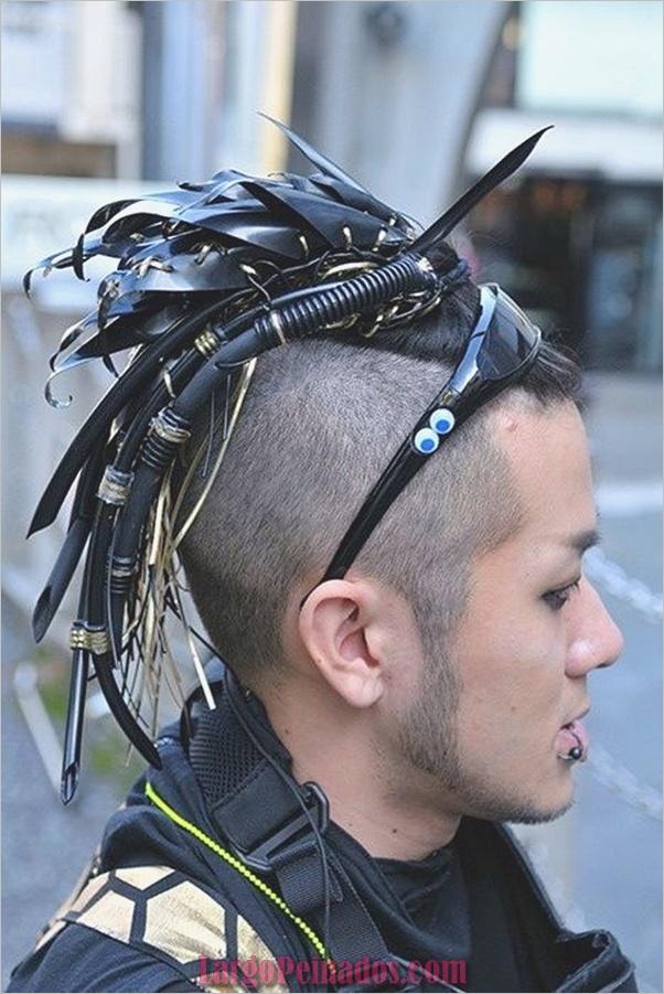 Nuevos peinados punk para hombres en 2019 (5)