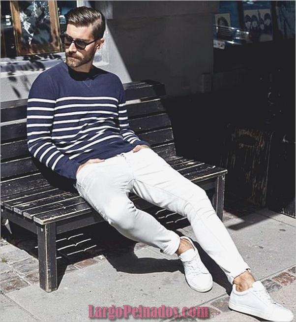 Trajes de moda para hombre para emparejar con zapatillas (4)