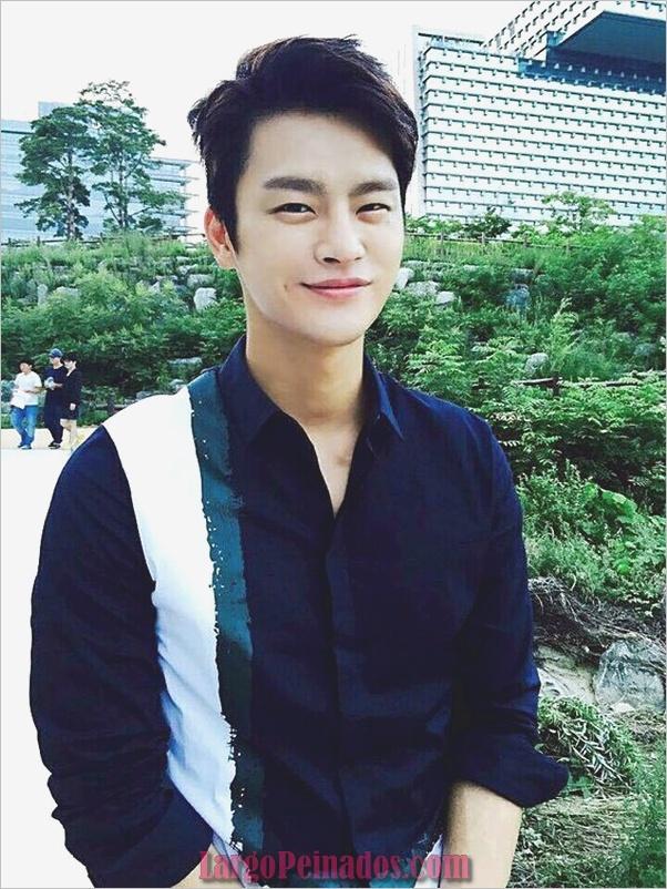 Los hombres coreanos peinados (8)