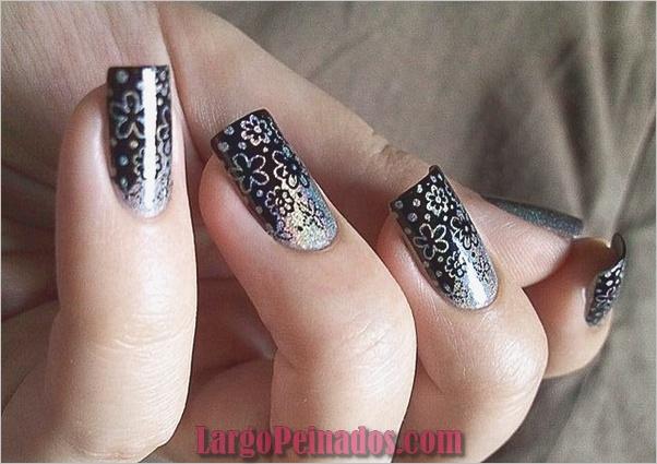 Diseños de arte de uñas fáciles para principiantes8