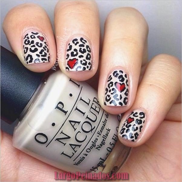 Estampados De Leopardo Del Arte De Uñas (7)