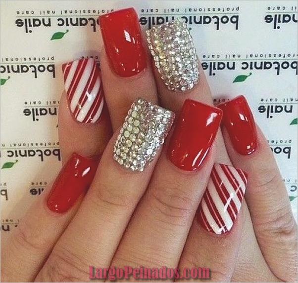 Diseños de arte de uñas rojas9