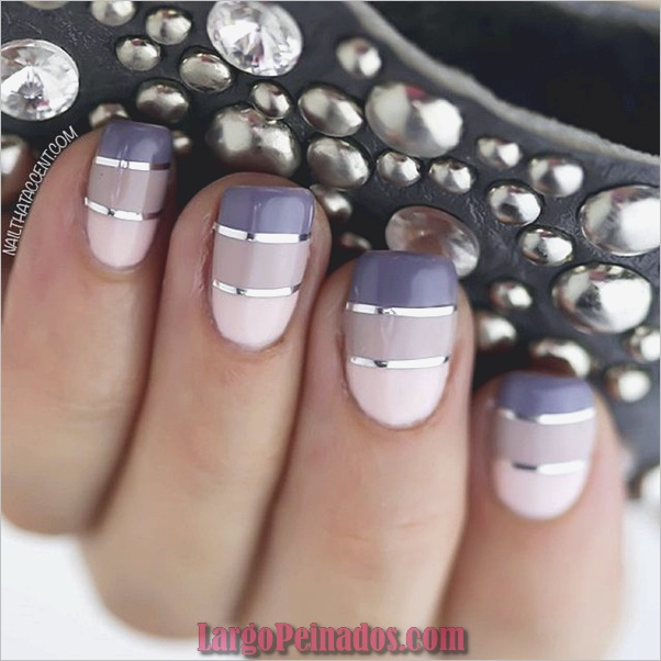 Ideas y diseños de uñas de gel (7)