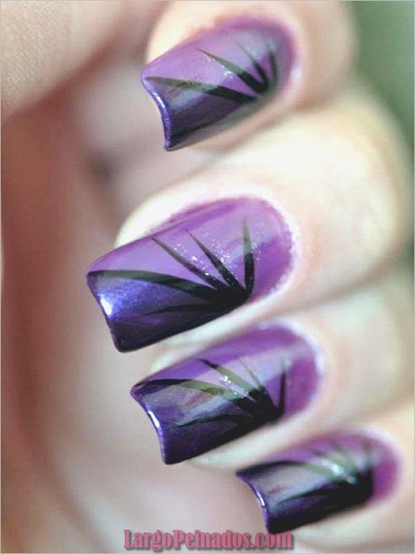 Ideas y diseños de uñas de gel (38)