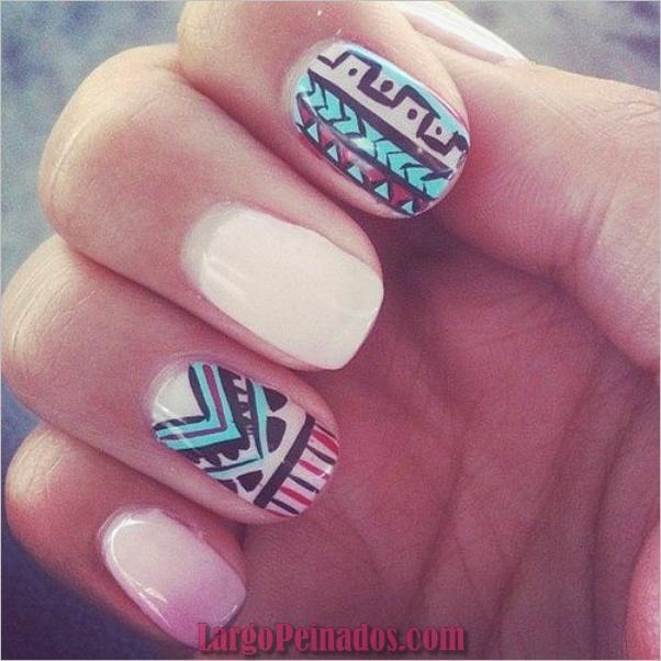 Diseños de arte de uñas de verano y colores00006