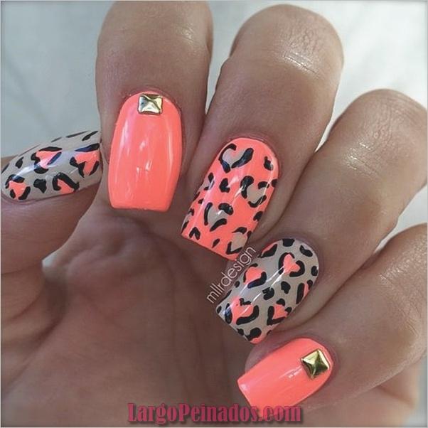 Estampado leopardo de uñas (5)