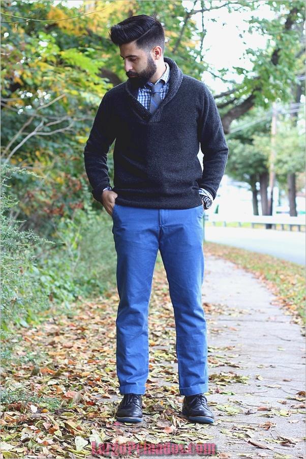 Trajes de moda de invierno para hombres en 2019 (2)