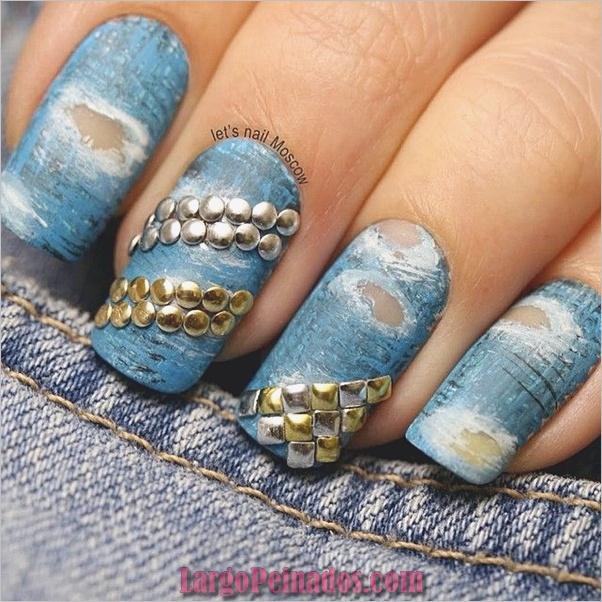 Ideas rápidas de arte de uñas para mujeres de oficina (11)