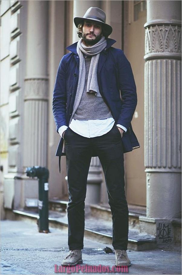 Trajes de estilo de moda para hombre30