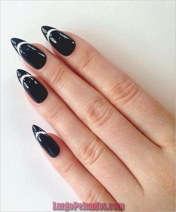 Ideas y diseños de uñas de aguja fáciles (5)