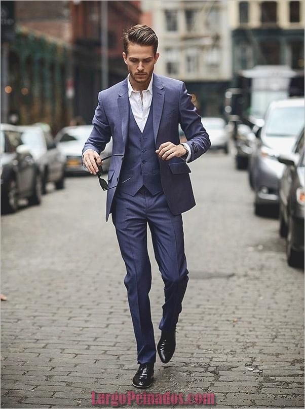 Trajes de estilo de moda para hombre15