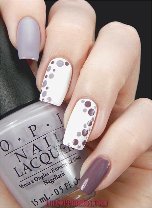 Diferentes diseños e ideas de esmalte de uñas
