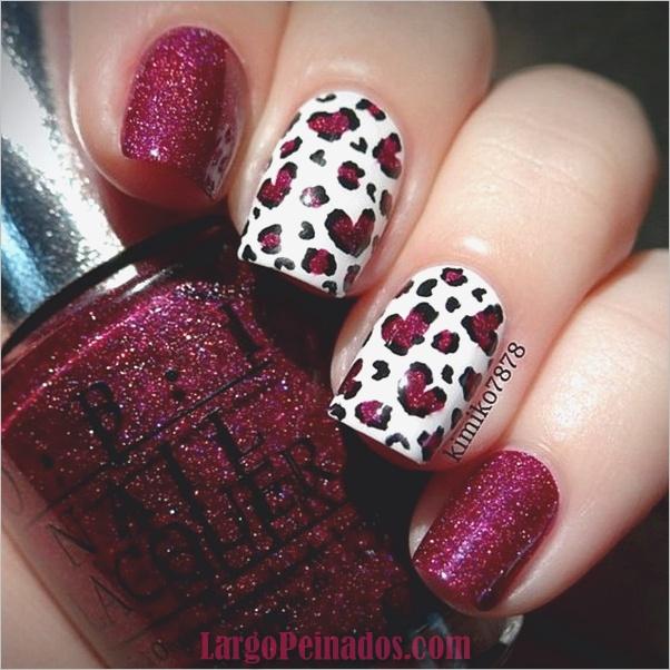 Estampados De Leopardo Del Arte De Uñas (22)