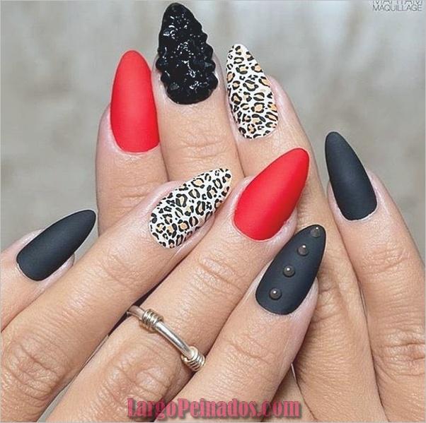 Estampados De Leopardo Del Arte De Uñas (23)