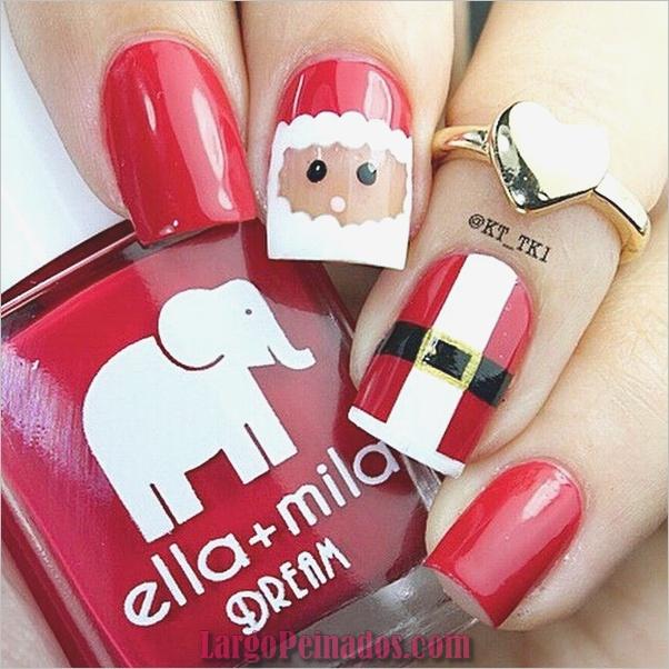Diseños de arte de uñas de Navidad e Ideas1