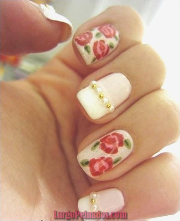 Diseños de arte de uñas fáciles para principiantes30