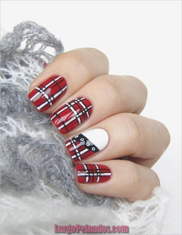 Diseños de arte de uñas rojas7