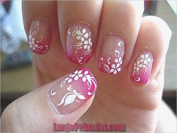 Diseños de arte simples para uñas cortas (2)