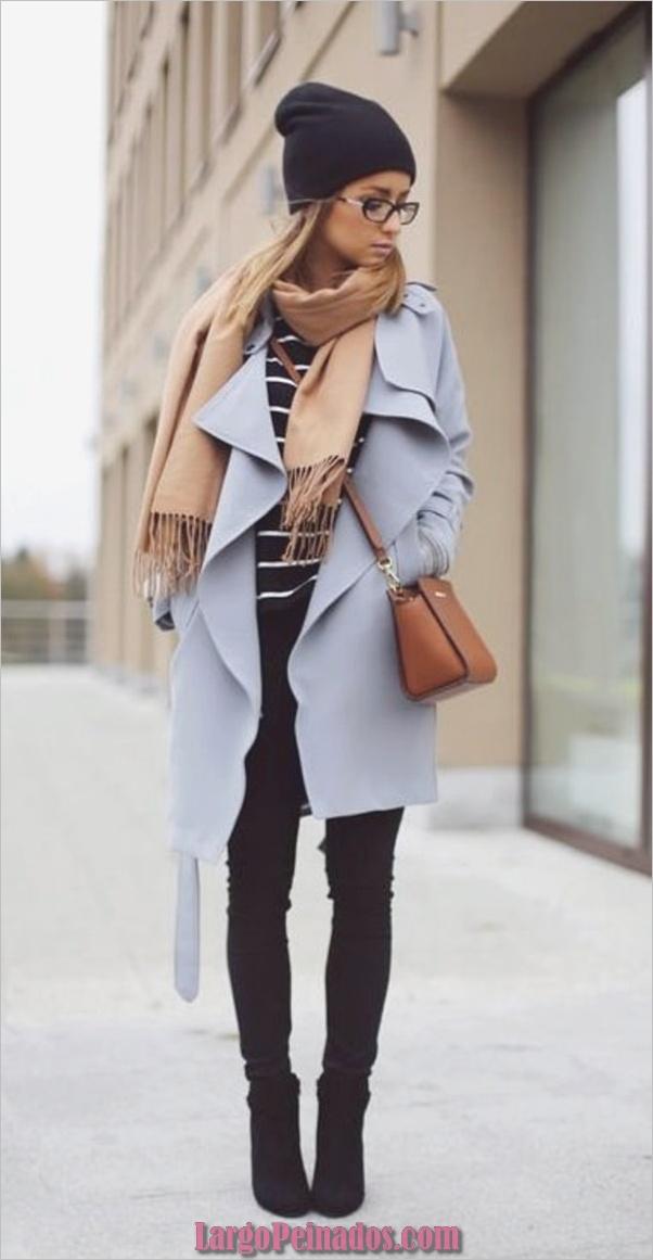 Elegante traje-Ideas-con-Beanie