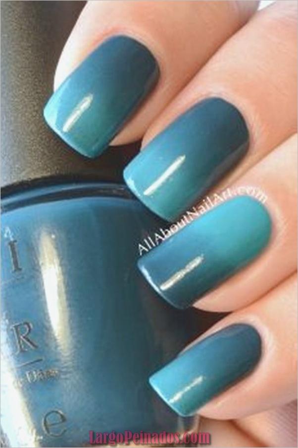 Ideas y diseños de arte de uñas azules (41)