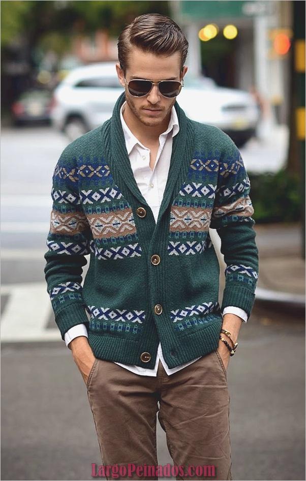 Trajes de moda de invierno para hombres en 2019 (17)