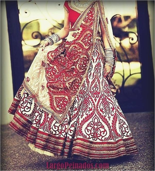 Vestidos y trajes indios elegantes23