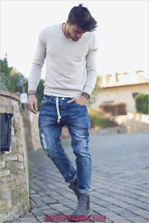 Moda masculina estilo trajes 3