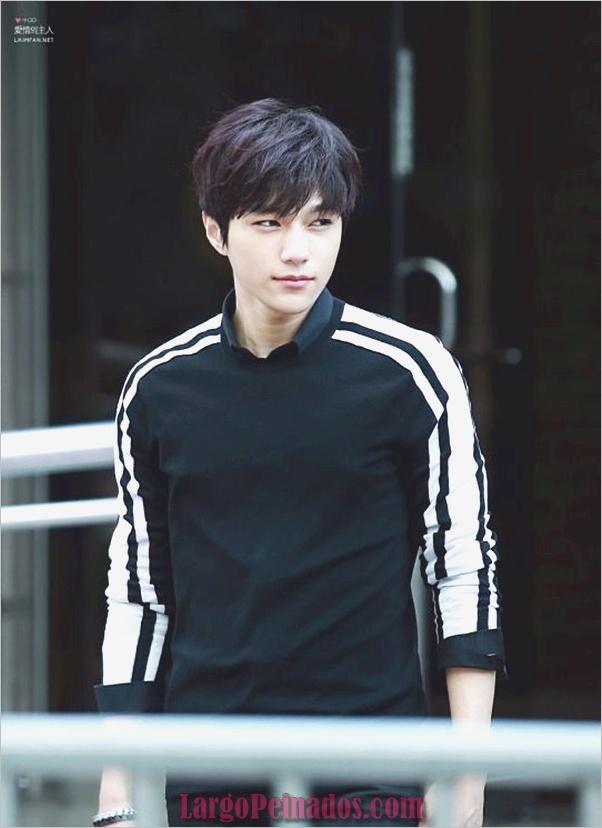Los hombres coreanos peinados (12)