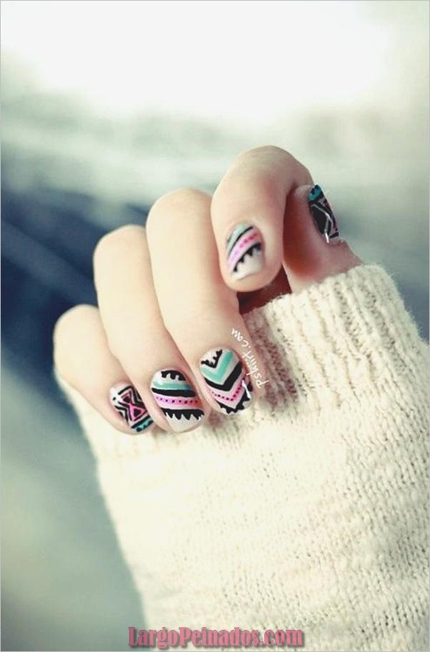 Diseños de uñas de invierno 2019 (8)