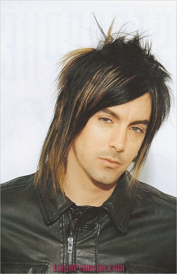 Últimos peinados largos para hombres (34)