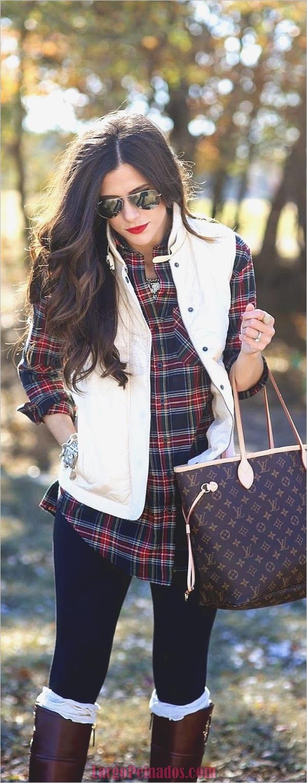 Camisas de moda con su botón arriba-camisas-4