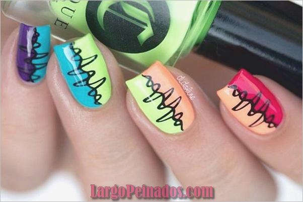 Diferentes diseños e ideas de esmalte de uñas (14)