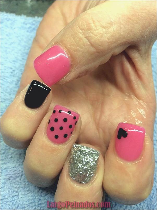 Ideas y diseños de uñas de gel (8)