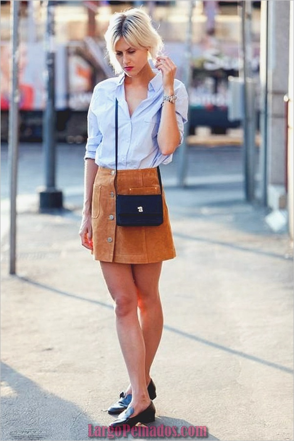 Camisas de moda con su botón arriba-camisas-5