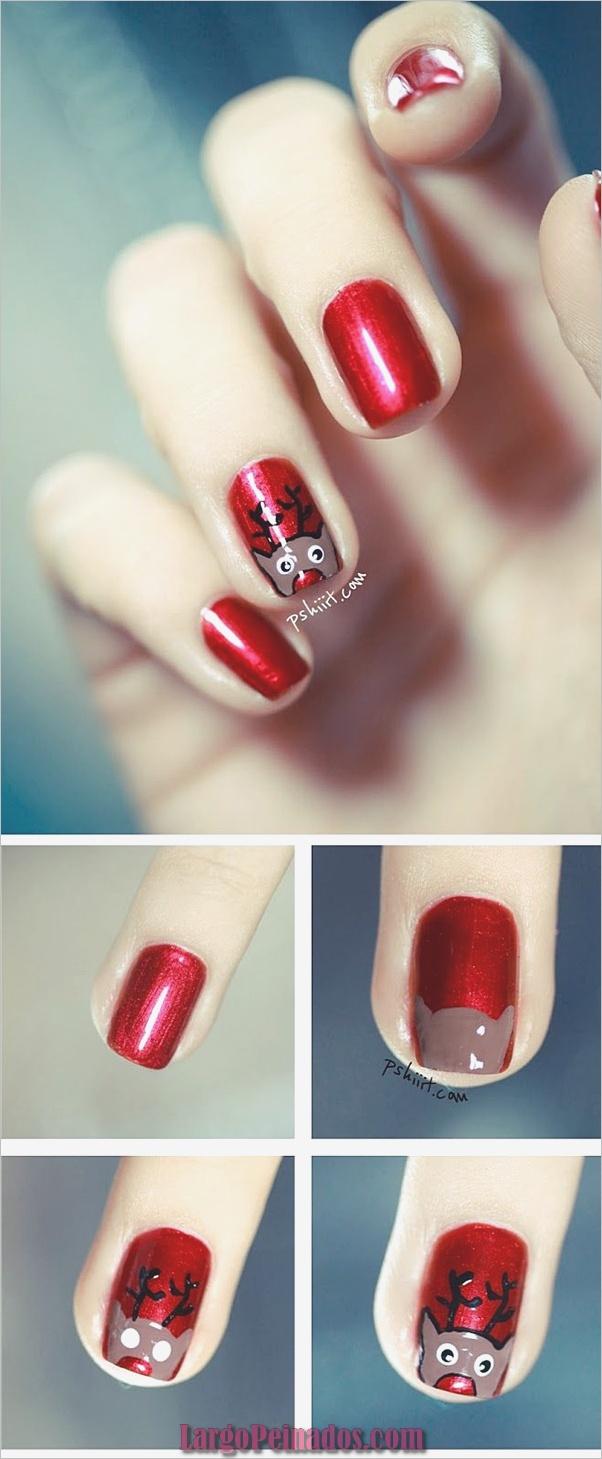 Diseños de arte de uñas de Navidad e Ideas2
