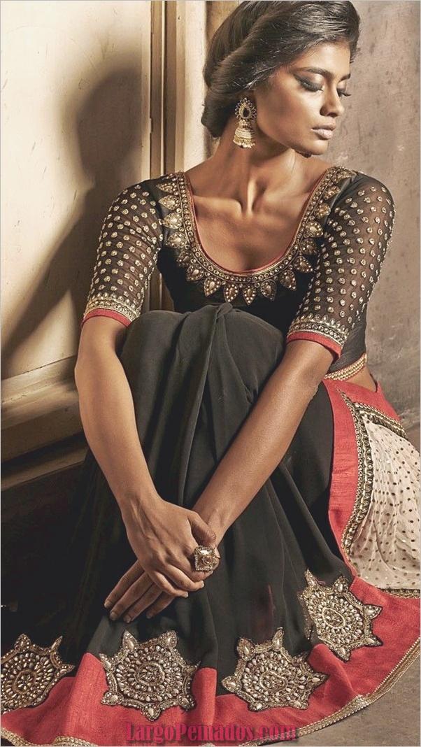 Elegantes vestidos indios y trajes 32.1