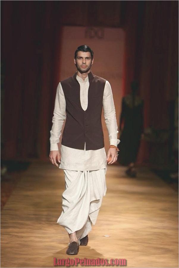 Vestidos y trajes indios elegantes18
