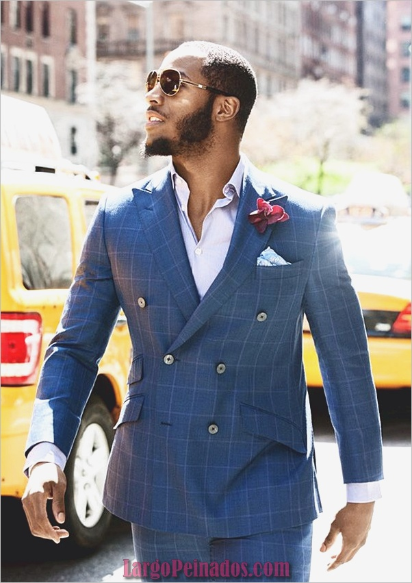 Hombres negros calientes Barba Styles2