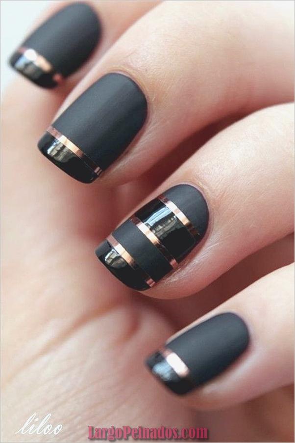 Ideas y diseños de uñas de gel (17)