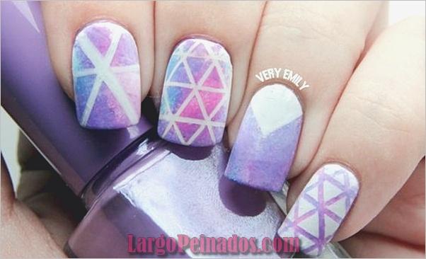 Diseños de arte de uñas púrpura (32)