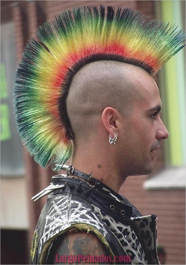 Nuevos peinados punk para hombres en 2019 (1)
