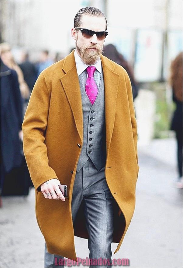 Trajes de moda de invierno para hombres en 2019 (16)