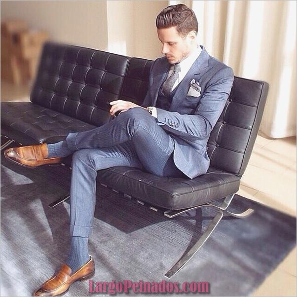 Trajes de estilo de moda para hombre11
