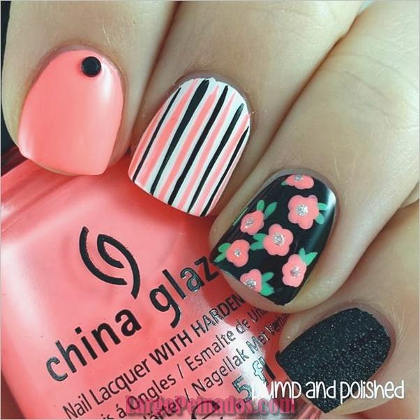 Diferentes diseños e ideas de esmalte de uñas (4)