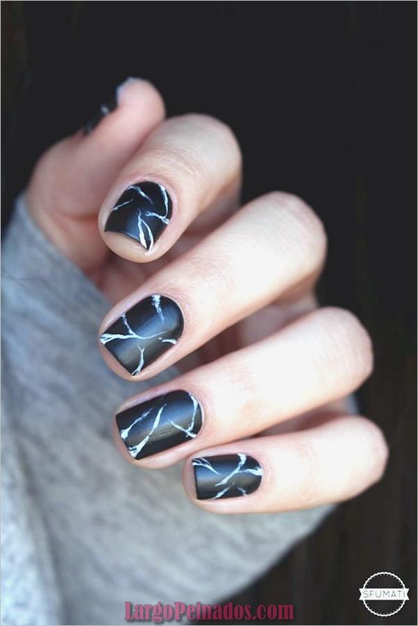 Diseños de arte de uñas de mármol (1)