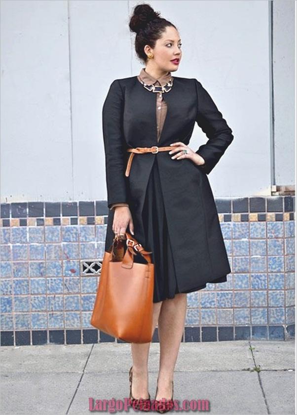 Reglas de la moda para mujeres de grandes pechos 14