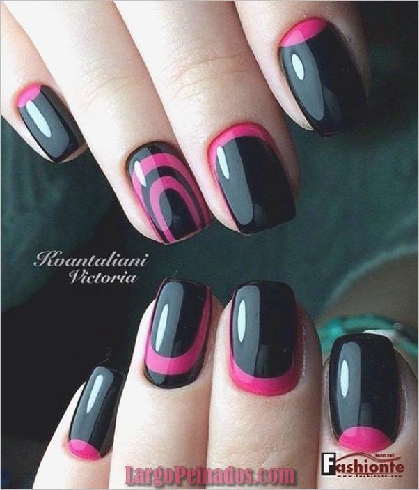 Ideas y diseños fáciles de esmalte de uñas (16)