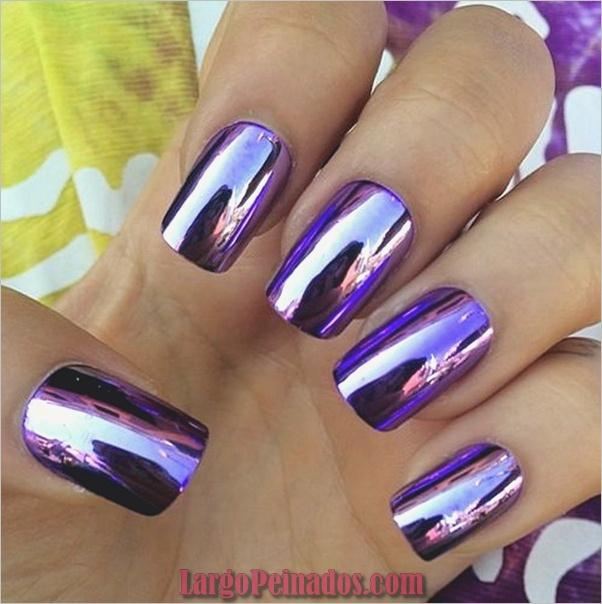 Diseños de arte de uñas púrpura (27)