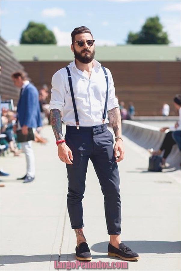 Trajes de estilo de moda para hombre20