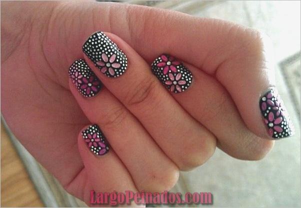 Diseños de arte de uñas fáciles para principiantes3
